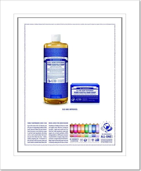 Peppermint Dr. Bronner's Castile Soap