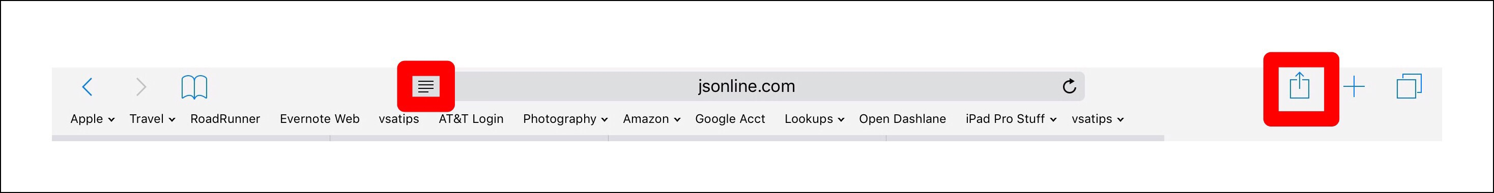 URL bar with Rewder mode lines
