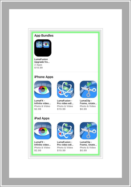 Luma Fusion Apps