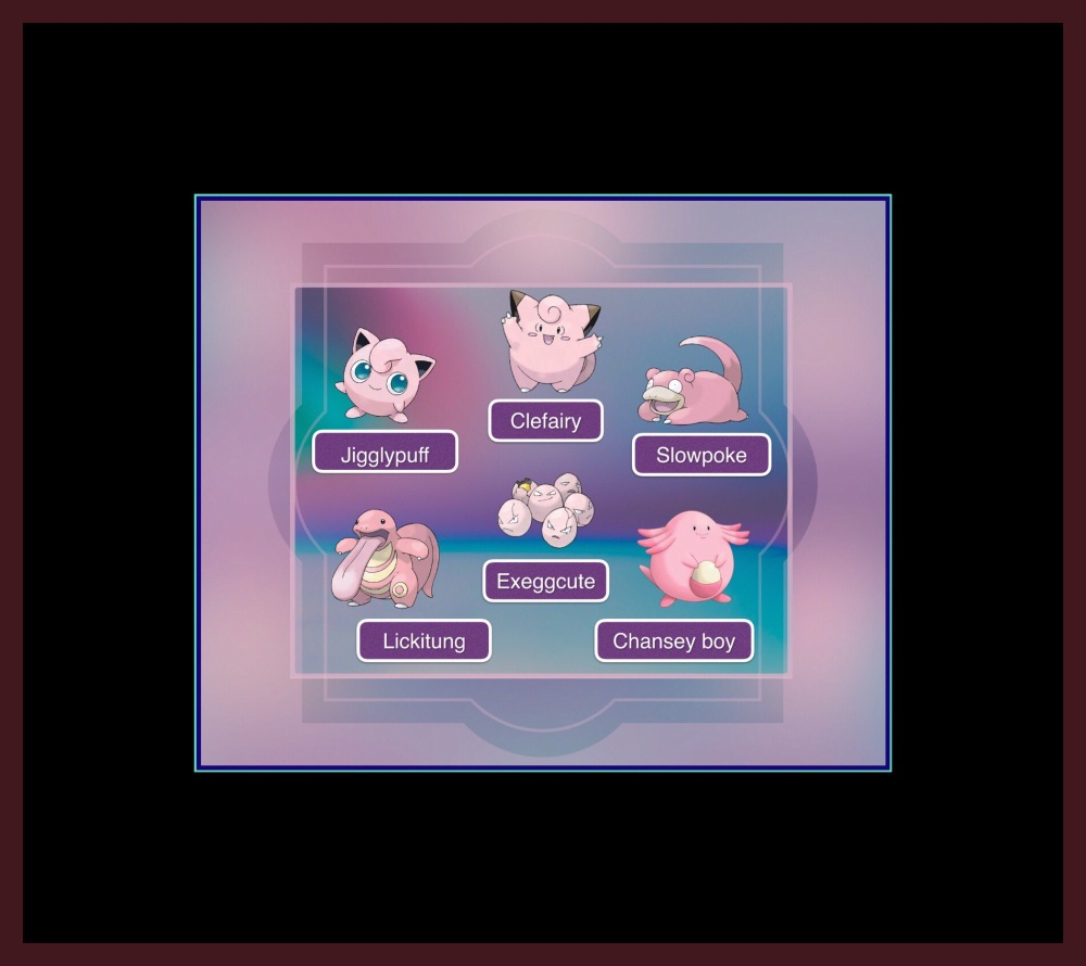 Pink Pokémon for Valentines Day