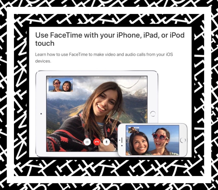 FaceTime is Apple's Video Chat App