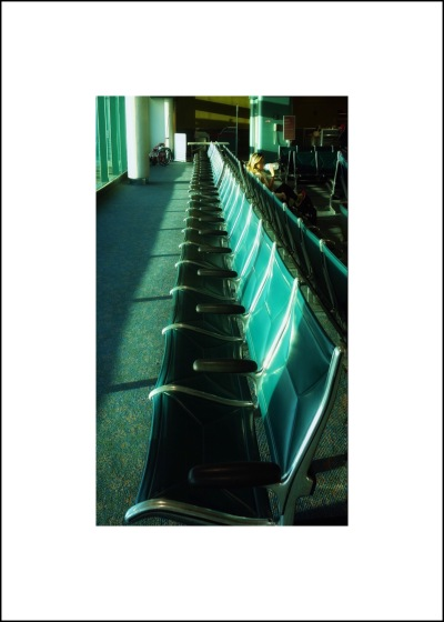 Airport chairs can look cool