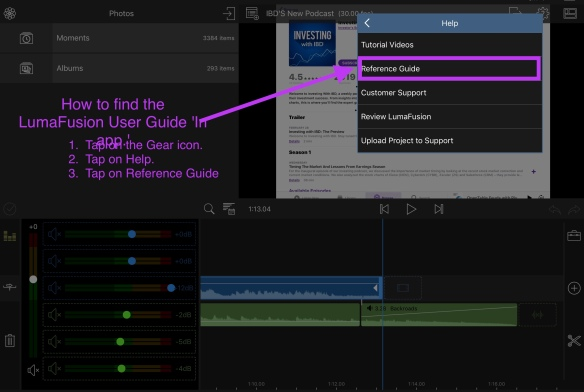 MY NOTES: LEARNING TO USE LUMAFUSION VIDEO EDITOR APP FOR